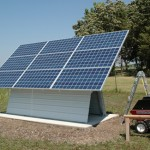 Solar Electric Shed